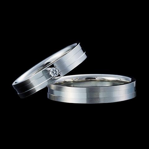 結婚指輪「L'E LUE」