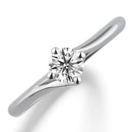 婚約指輪「Diamond lily」
