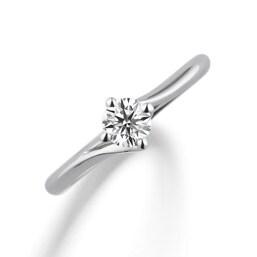 婚約指輪「Diamond lily メレ無」