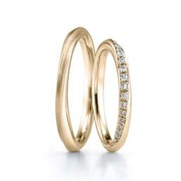 結婚指輪「Bouquet YG」