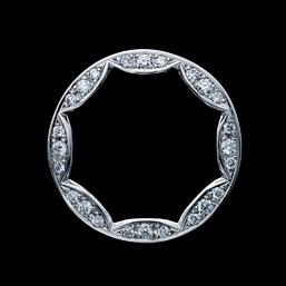 結婚指輪「Diamond journey Compass rose」