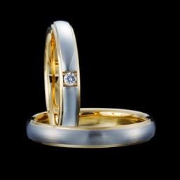 結婚指輪「L'Elue 1,2」