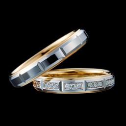 結婚指輪「L'Elue 7,8」