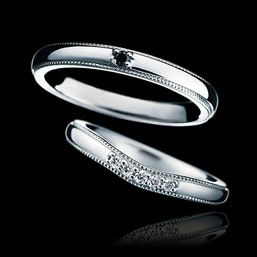 結婚指輪「Reine de Corolle」