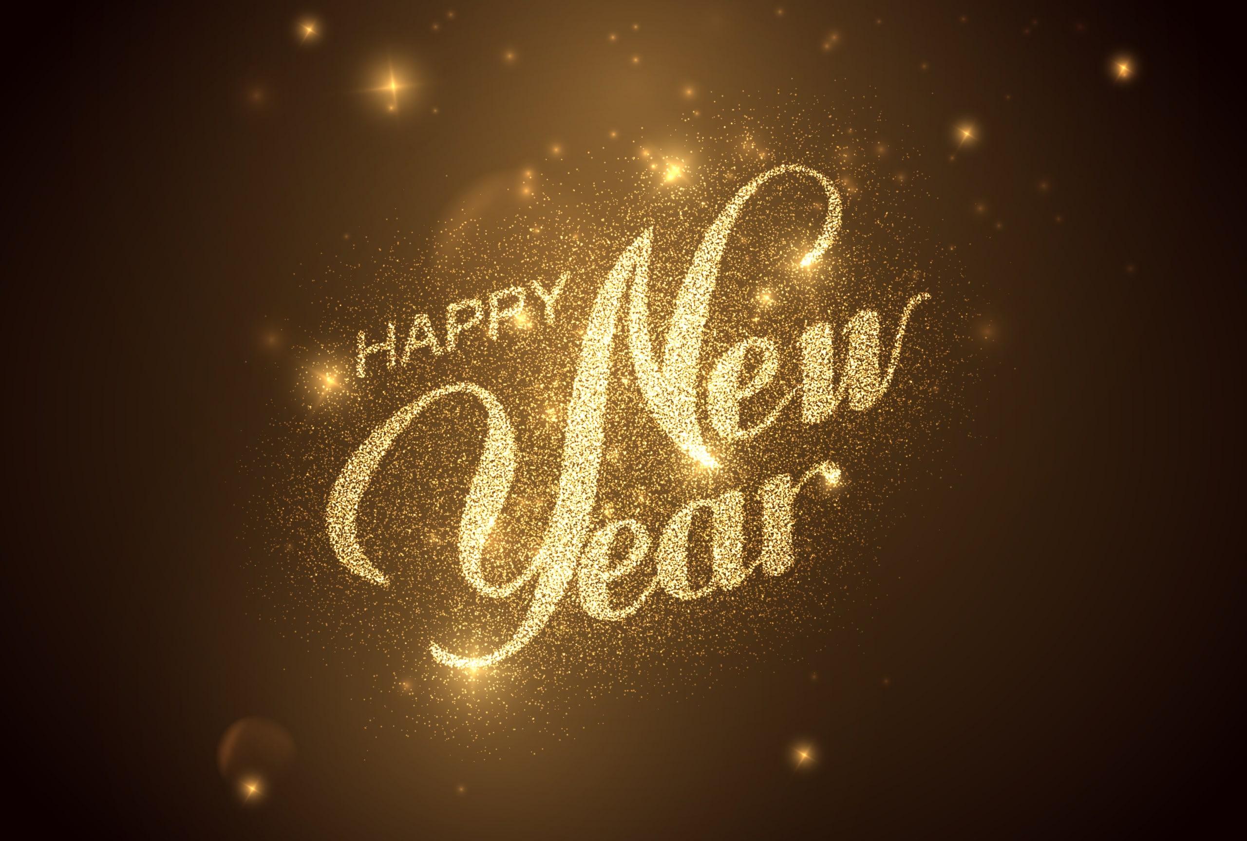 新年を迎えるタイミングでプロポーズのイメージ