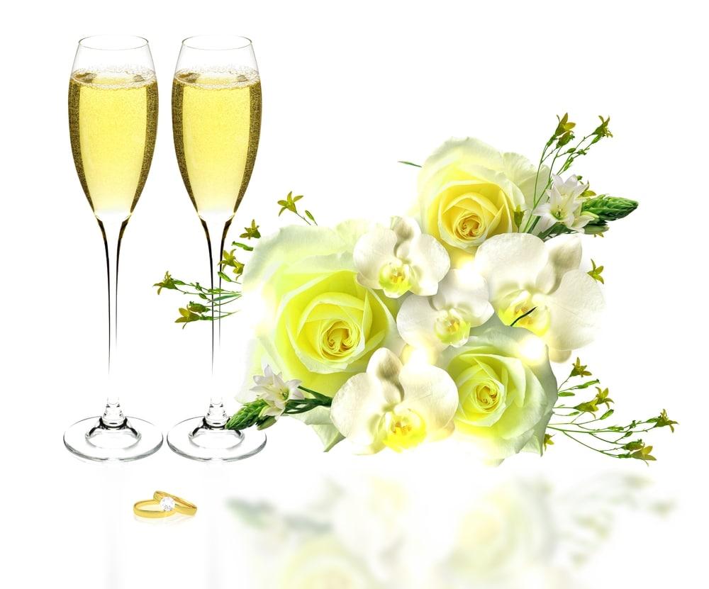特別なシャンパンを用意するのイメージ