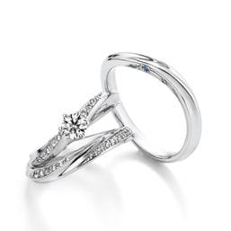 結婚指輪「Venus breath」