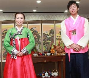 韓国の花嫁衣裳についてのイメージ