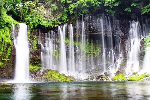 白糸の滝・竜返しの滝のイメージ