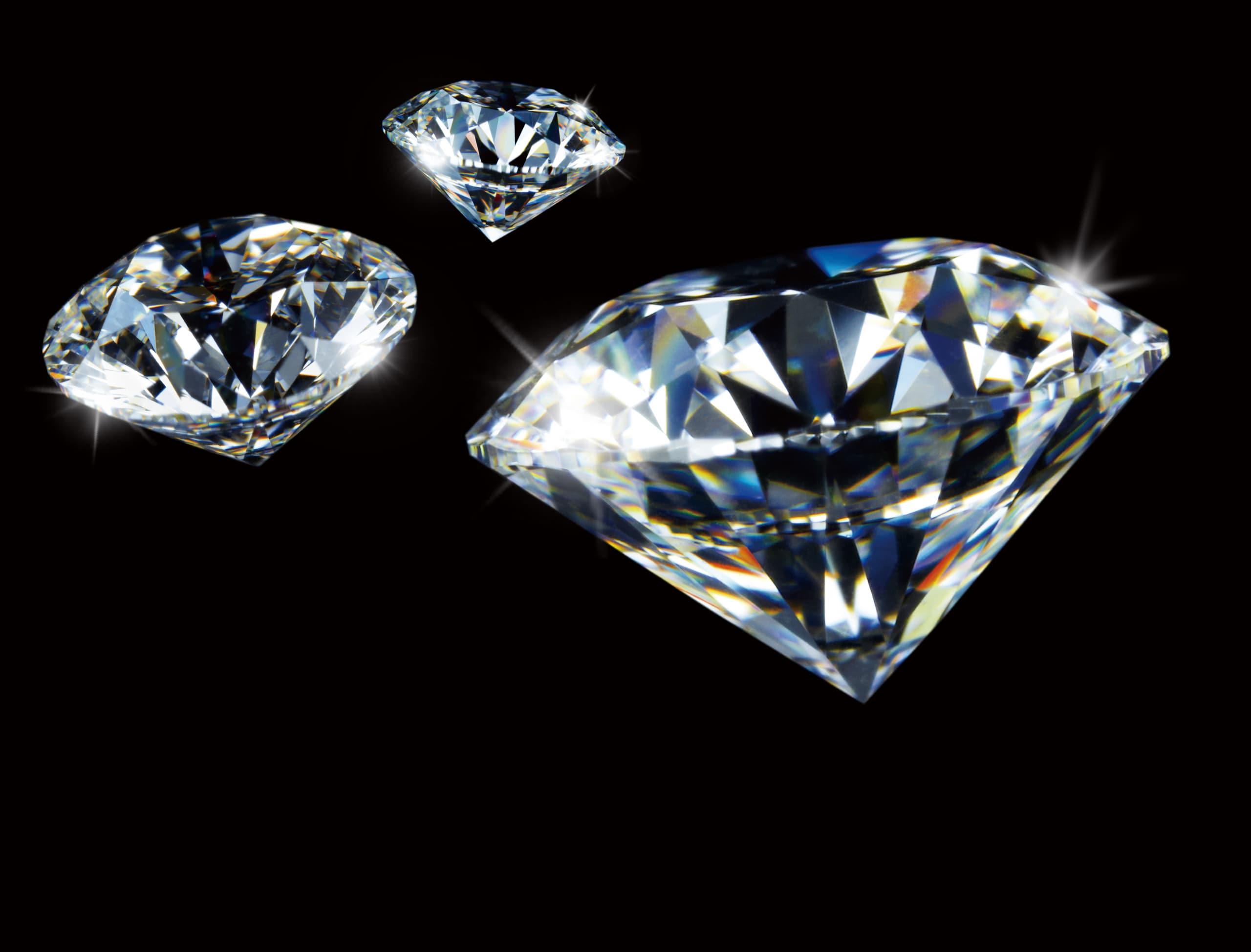 宝石は断然「ダイヤモンド」が人気のイメージ