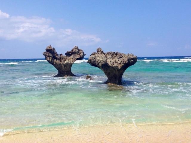 奄美大島の「ハートロック」でロマンチックに!のイメージ