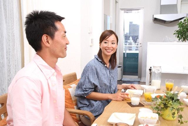 自宅で食事をとることが多くなるのイメージ