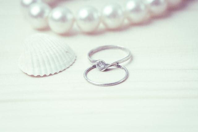 既製品の婚約指輪の場合のイメージ
