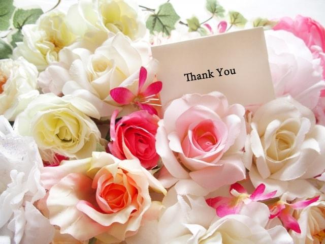 女性が贈られたいメッセージは「ありがとう」のイメージ