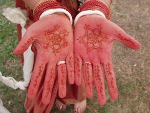 インドの花嫁衣裳についてのイメージ