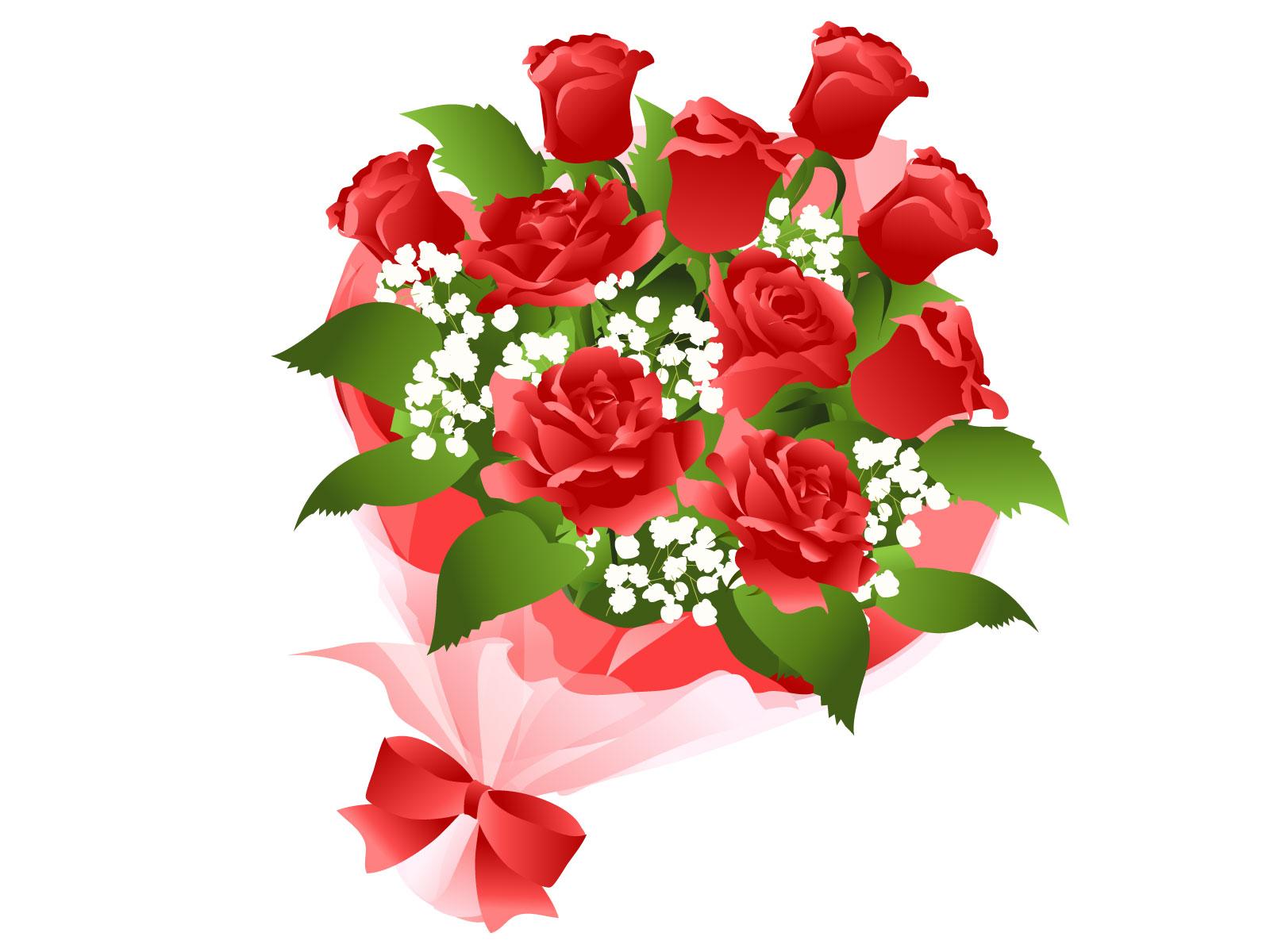 赤い薔薇のイメージ