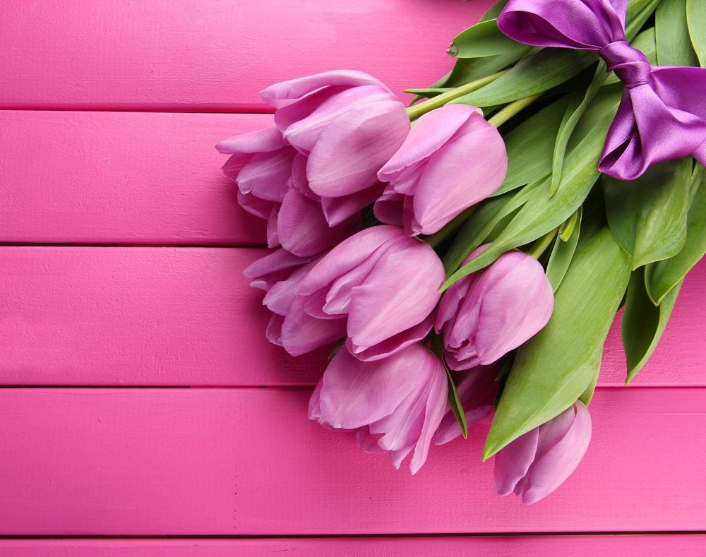 春には「チューリップ」で可愛らしさを!のイメージ
