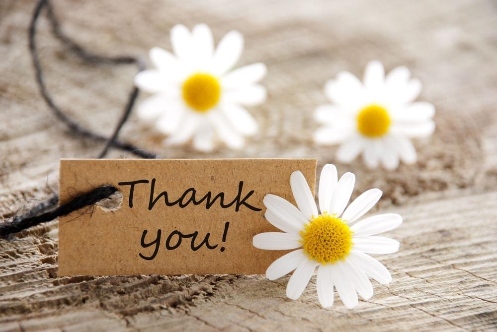 感謝の気持ちを伝えるのイメージ