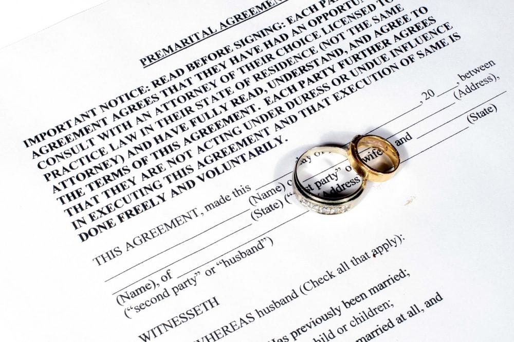 VOL.19 プロポーズ男子の基礎知識 海外セレブから学ぶ! 「婚前契約」は結んでおくべき?のイメージ
