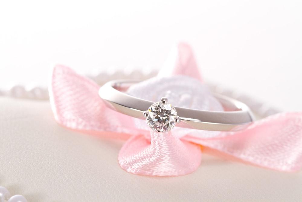 結婚指輪との「重ね着け」を考えてのイメージ