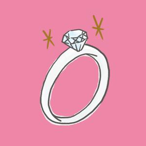 婚約記念品(婚約指輪/エンゲージリング)のイメージ